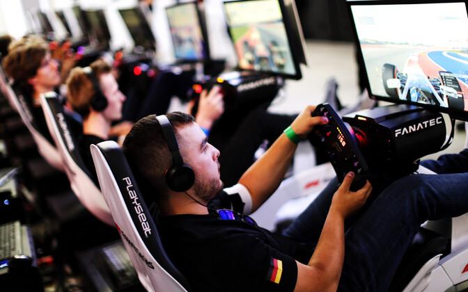 E-sport Suurbritannia F1 etapil