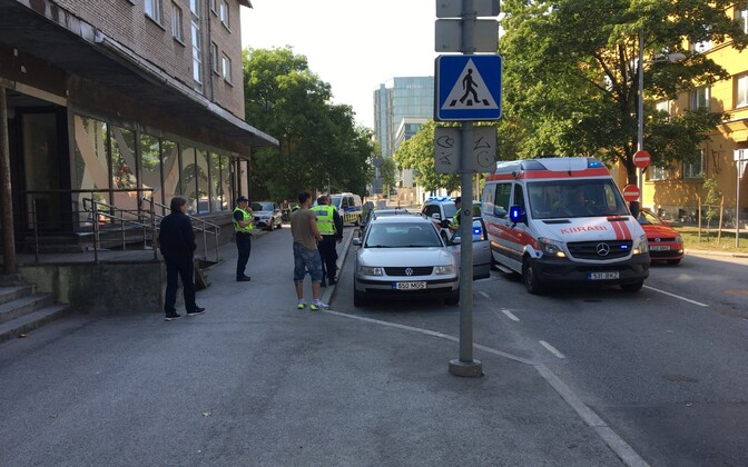 Происшествие на улице Кундери.