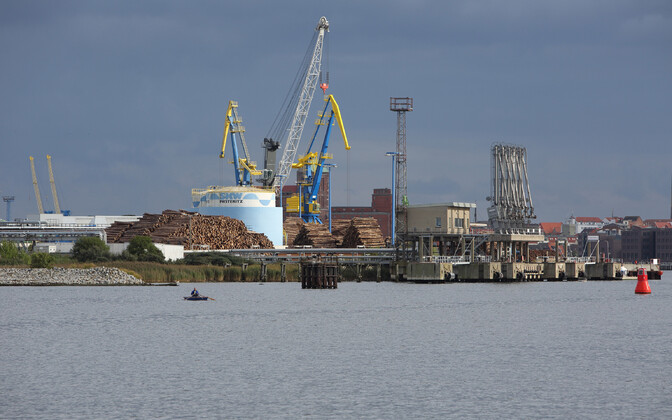 Порт Висмара.