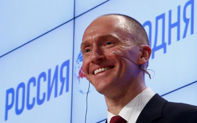 Carter Page 2016. aasta detsembris Moskvas.