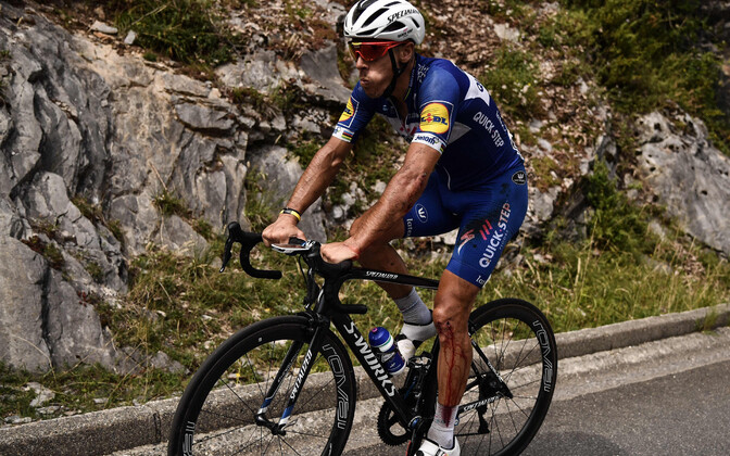 Philippe Gilbert Tour de France'i 16. etapil