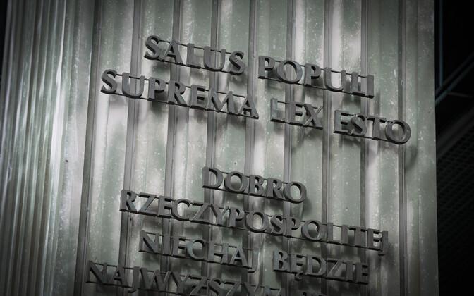 Ülemkohtu hoone Varssavis.