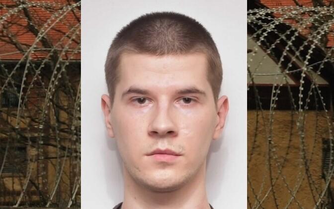 Вируская тюрьма разыскивает Виктора Абрама.