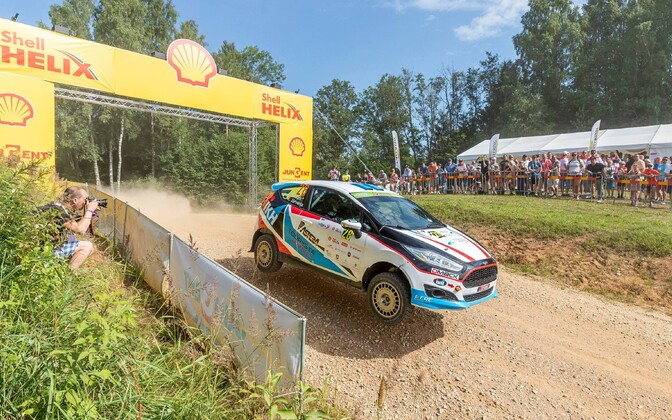 Roland Poom Rally Estonial.