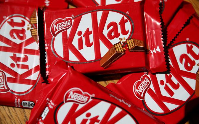 Nestlé S.A toodetud Kit Kat.