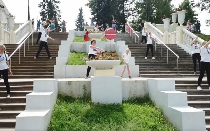 Танец жителей Ида-Вирумаа.