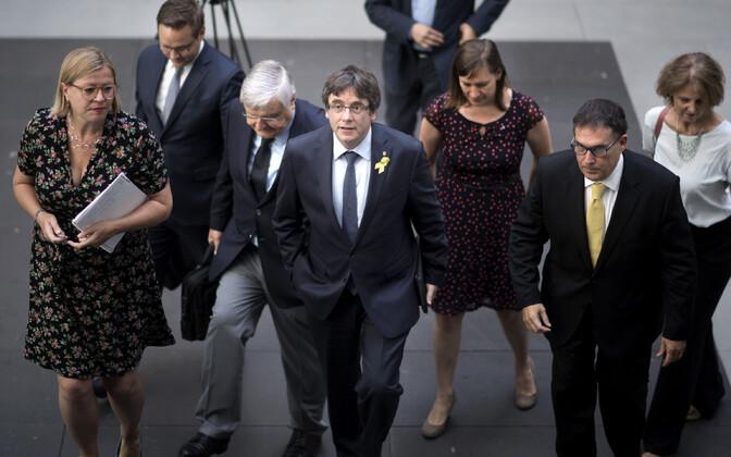Carles Puigdemont 25. juulil Berliinis.