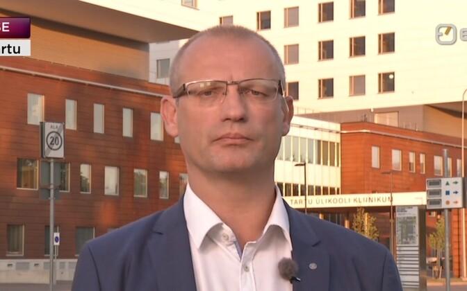 Tartu ülikooli kliinikumi uus juht Priit Eelmäe.