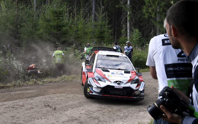 Ott Tänak - Martin Järveoja Soome MM-rallil