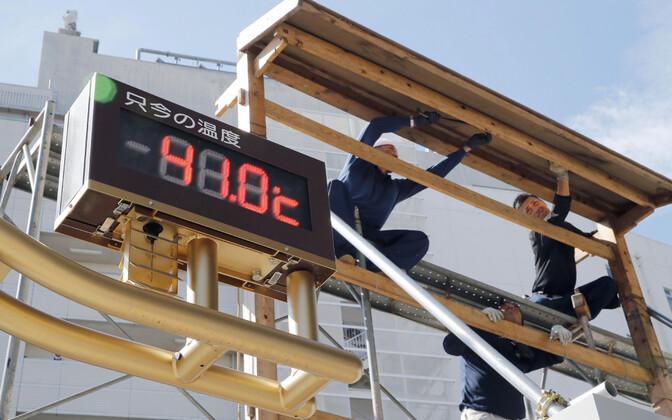 Tokyos on temperatuurid kuumalaine tõttu kerkinud väga kõrgeks