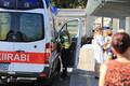 Truck crash at Tallinn's Freedom Square on Thursday. 26 July, 2018.