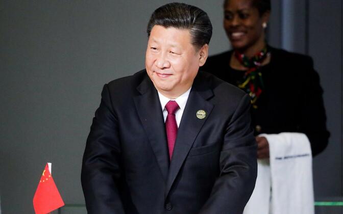 Hiina president Xi Jinping.