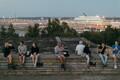 Kuuvarjutus Tallinnas Linnahalli katuselt