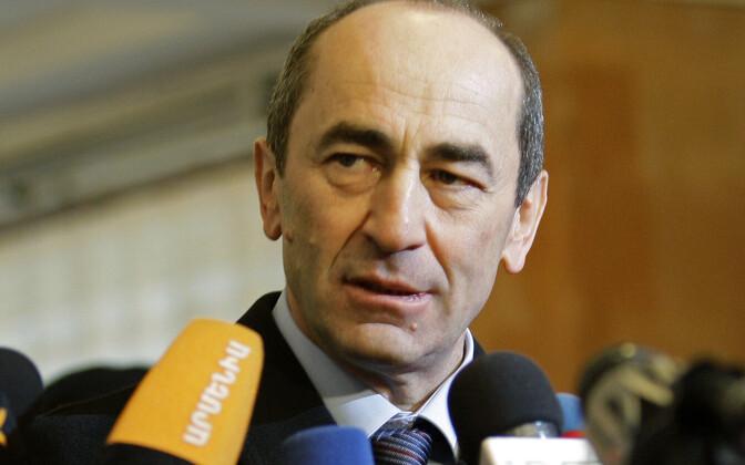 Экс-президента Армении обвинили всвержении конституционного строя