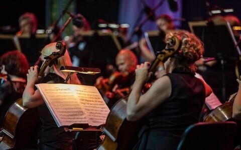 Концерт симфонического оркестра Ванемуйне.