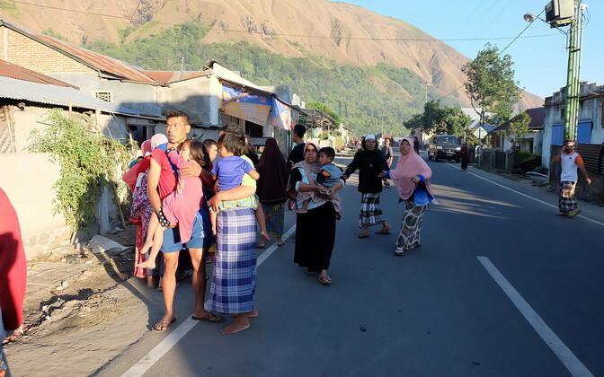 Землетресения в Индонезии.