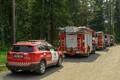 Спасатели в Нарва-Йыэсуу тушат лесной пожар.