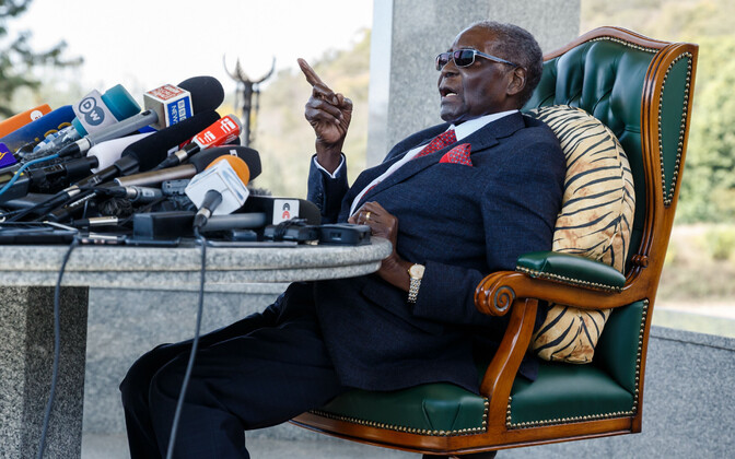 Zimbabwe endine president, 94-aastane Robert Mugabe.