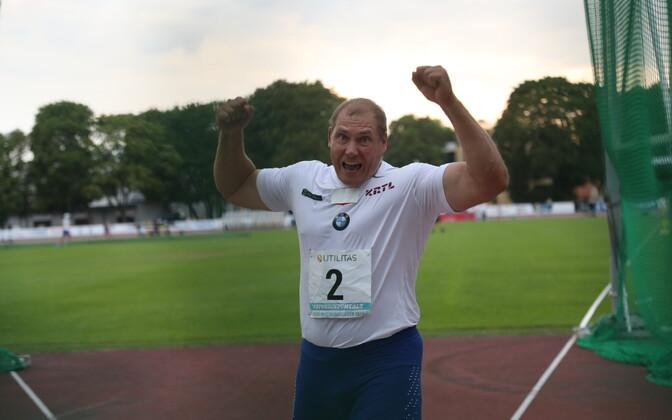 Kergejõustiku Eesti meistrivõistlused.