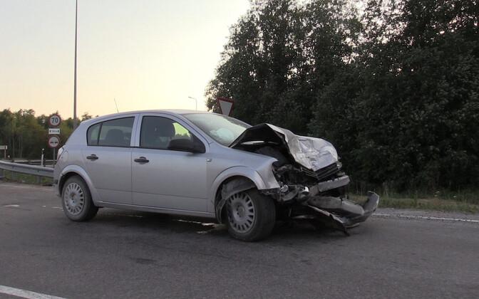 Авария в Ляэне-Вирумаа