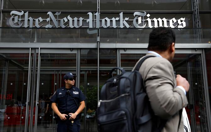 New York Timesi hoone.