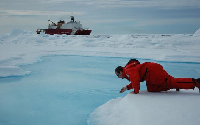 Pilt on illustratiivne ega ole seotud selle doktoritööga. Foto on tehtud 2005. aastal Põhja-Jäämerel.