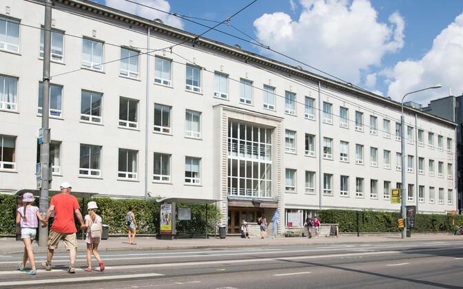 Tallinna ülikooli hoone.