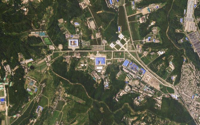 Предполагаемое место производства (снимок со спутника).