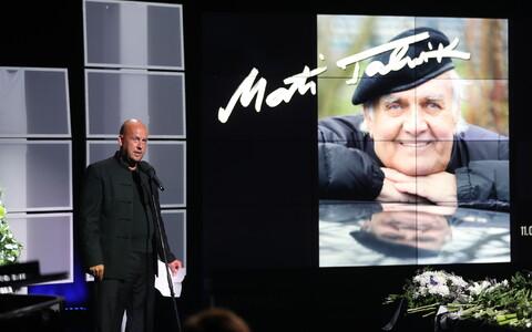 Mati Talvik's funeral. 31 July, 2018.