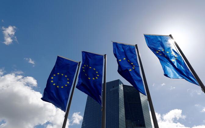 Euroopa Keskpanga peahoone Frankfurdis.