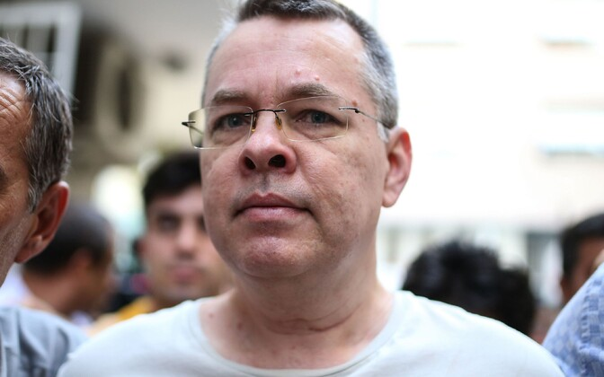 USA pastor Andrew Brunson.