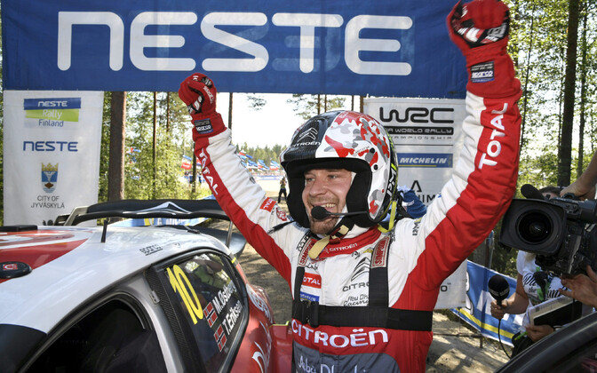 Mads Östberg Soome MM-rallil