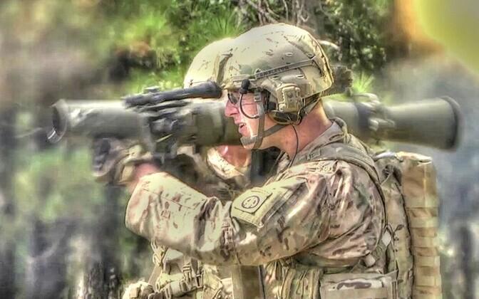 Противотанковый гранатомет Carl Gustaf M3.