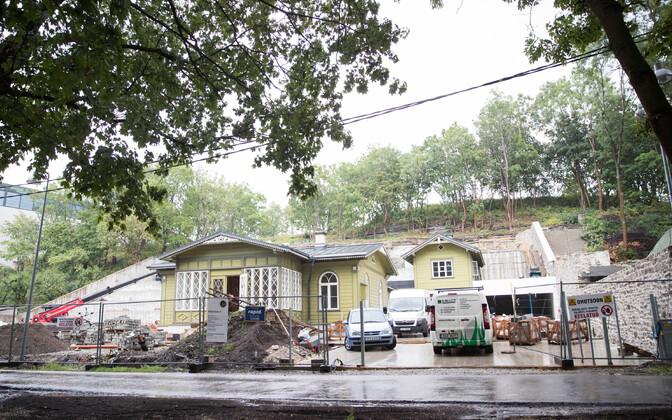 Teet Margna maja ehitus