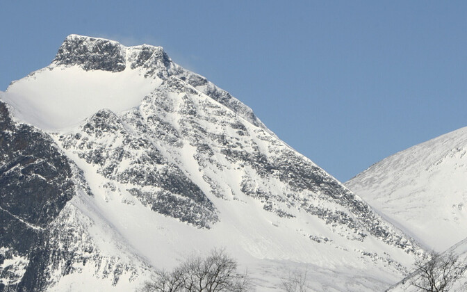 Kebnekaise mägi Rootsis, arhiivifoto.
