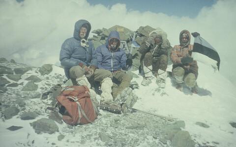 Экспедиция на пик Эстонии 1990 года.