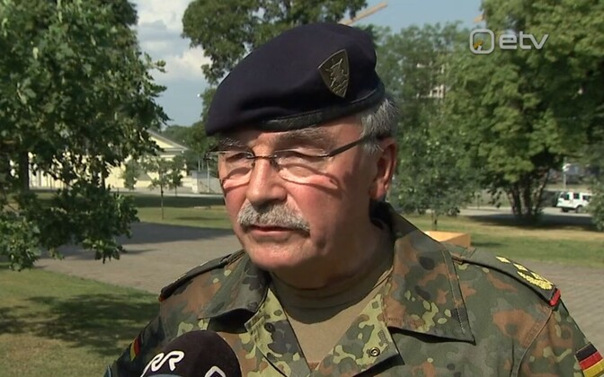Commander of NATO Multinational Corps Northeast (MNC NE) Gen. Manfred Hofmann.