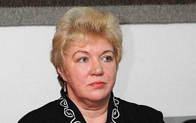 Тамара Луйгас покинула волостное собрание.