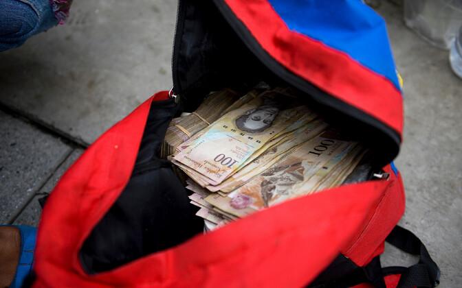 Venezuela rahakott.