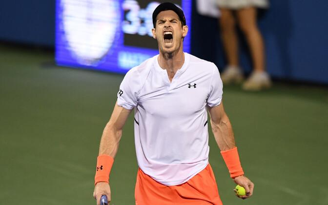 Andy Murray Washingtoni turniiril.