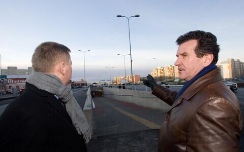 Тойво Моораст (справа). Фотография 2007 года.