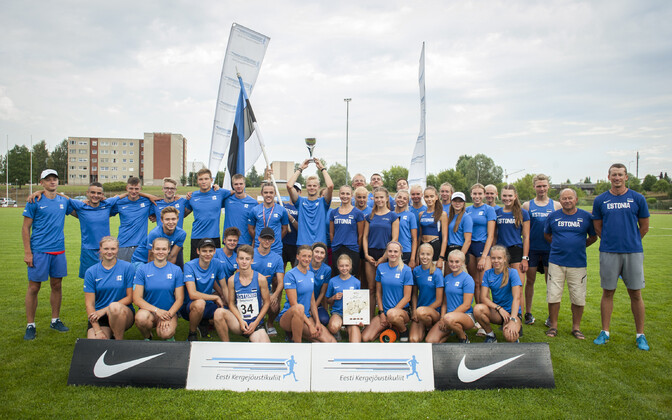 Eesti U-18 kergejõustikukoondis