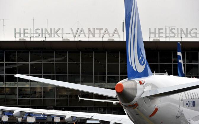 Аэропорт Хельсинки-Вантаа.