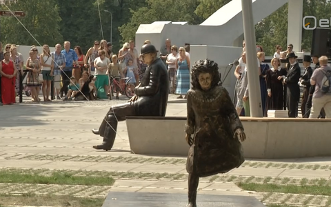 Koidula ja Jannseni mälestusväljak.
