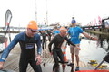 The Tallinn Ironman started at 6.30 on Saturday.
