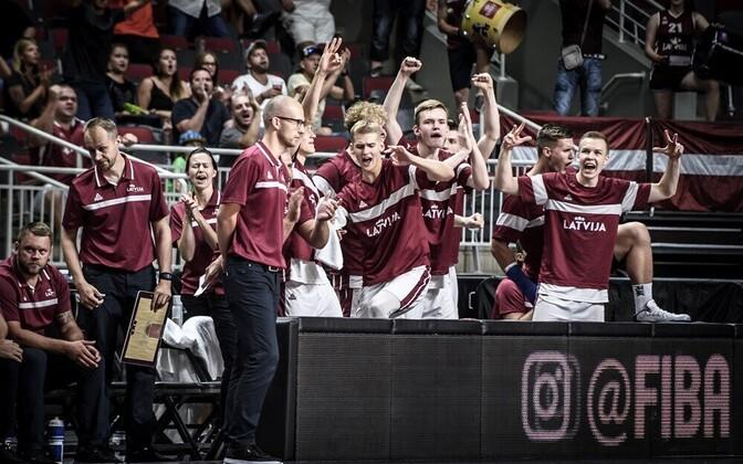 Läti U-18 noormeeste korvpallikoondis