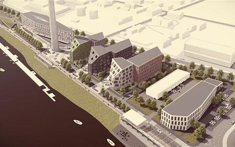 Katlamaja kvartali planeeringuvõistluse võidutöö (Arhitekt Must)
