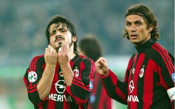 Gennaro Gattuso ja Paolo Maldini