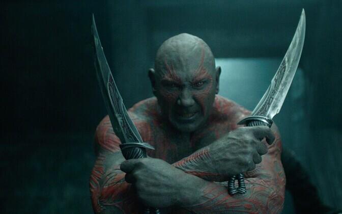 David Bautista Hävitaja Draxi rollis filmis