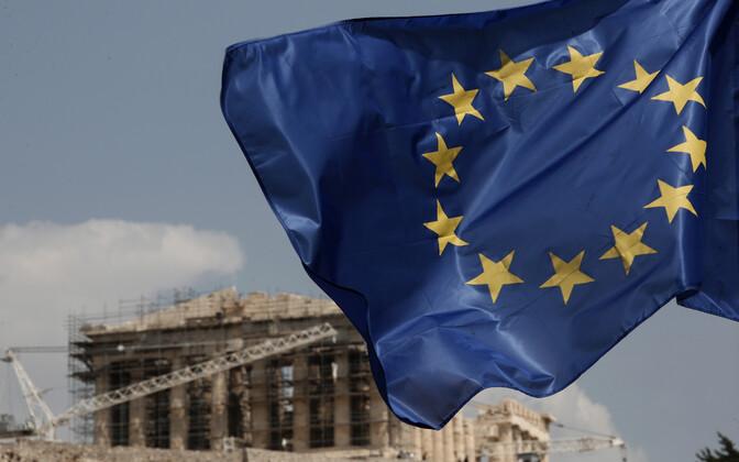 EL-i lipp Ateenas.